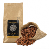 Káva Simple Coffee Costa Rica 100% Arabica 1000g