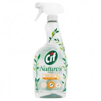 Čistiaci sprej do kuchyne Cif Nature's 750 ml