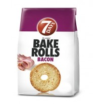 Bake rolls 7 Days 80g slanina