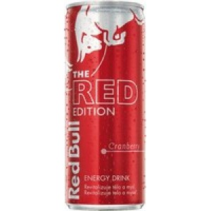 Red bull The Red Edition 0,25l brusnica plech