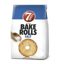 Bake rolls 7 Days 80g slané