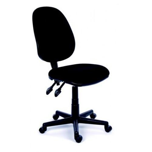 cd6b59b470251 Kancelárska stolička Mayah Happy Plus čierna