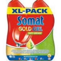 Somat Giga gel Gold 2x990ml Anti-grease Lemon