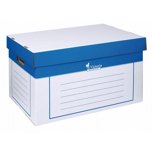 3ce053453 Archivačná krabica Victoria 320x460x270 mm biela