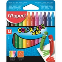 Voskovky Maped Color`Peps Wax 12 farieb
