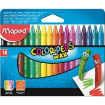 Voskovky Maped Color`Peps Wax 18 farieb