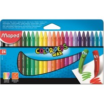 Voskovky Maped Color Peps Wax 24 farieb