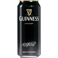 Pivo Guinness beer stout draught 0,44l tmavé pivo