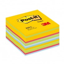 Bloček kocka Post-it 76x76 mix farieb