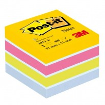 Bloček kocka Post-it 51x51 mini mix farieb