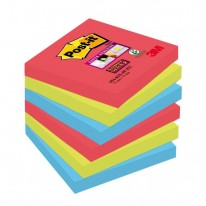 Bločky Post-it Super Sticky _Bora Bora_ 76x76mm