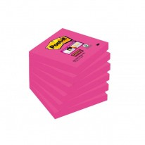 Bločky Post-it Super Sticky - Fuchsia 76x76mm
