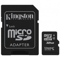 Pamäťová karta micro SDHC Kingston 32 GB class 10