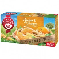 Čaj TEEKANNE ovocný Orange Ginger 45g