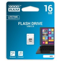 Kľúč Goodram UPI2 USB 2.0 16GB mini biely
