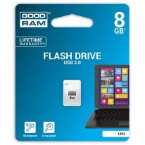 Kľúč Goodram UPI2 USB 2.0 8GB mini biely