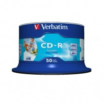 Verbatim CD-R printable cake 50 ks